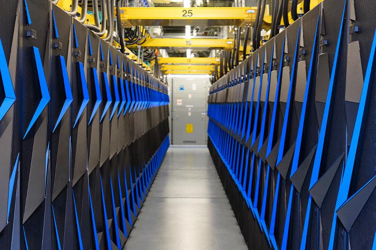Summitt Supercomputer at ORNL