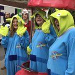 Staff Dress as Toy Aliens
