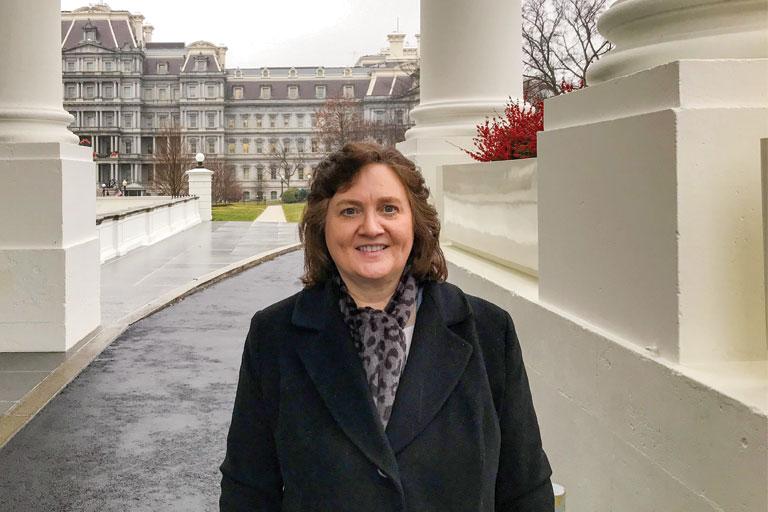 Professor Lynne Parker at the White House